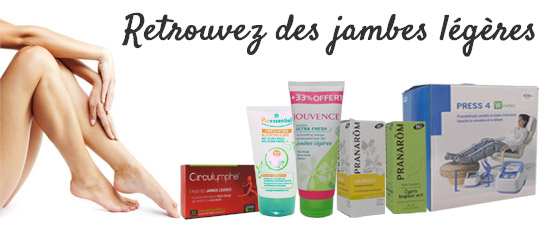 solutions jambes legeres